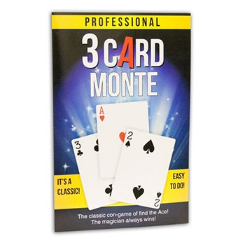 DISCONTINUED Three Card Monte