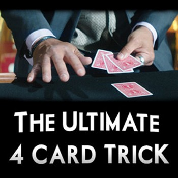 DISCONTINUED Ultimate 4 Card Trick with DVD
