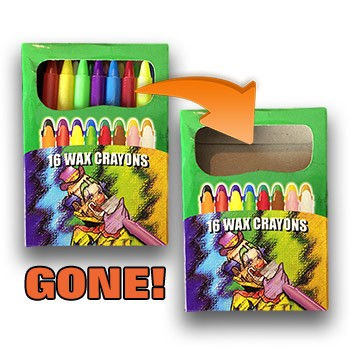 Vanishing Crayons