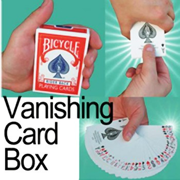 86 DISCONTINUED Vanishing Card Box