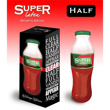 SOLD *CLOSEOUT* Vanishing Sports Drink Bottle- HALF FULL