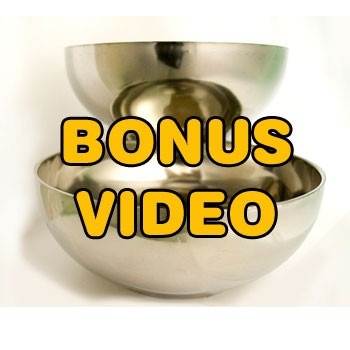 PASSWORD: Water Lota Bowls BONUS VIDEO