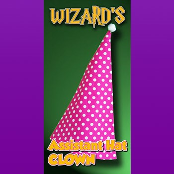 Wizard Assistant Hat - CLOWN