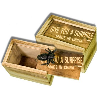 86 DISCONTINUED Wood Surprise Box